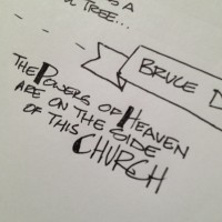 Bruce D. Porter taught us that peace and power are available to us through His Church at #ldsconf – From Instagram [Pic]
