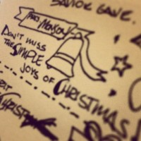 Don't miss the simple joys of Christmas. #christmasdevo #lds #sketchnotes [Instagram]